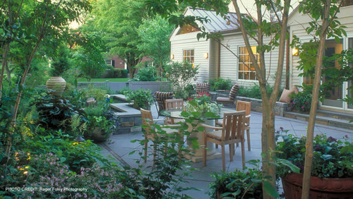 Clinton & Associates | Landscape Architects in Washington DC, Maryland, and Virg traditional patio