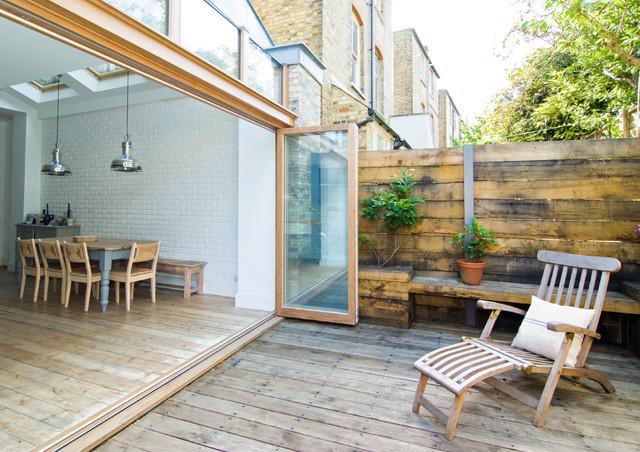 Clissold Crescent contemporary-patio