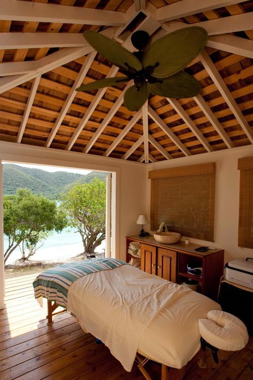 tropical patio by CedarStore.com