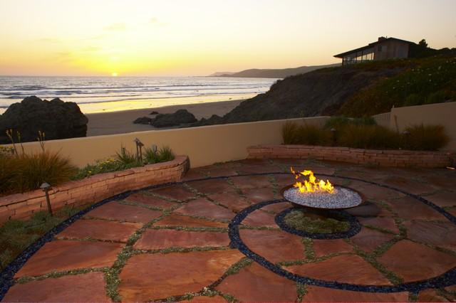 Coastal Influence beach-style-patio