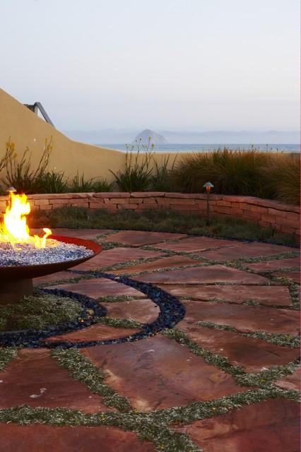 Coastal Influence Beach Style Patio San Luis Obispo