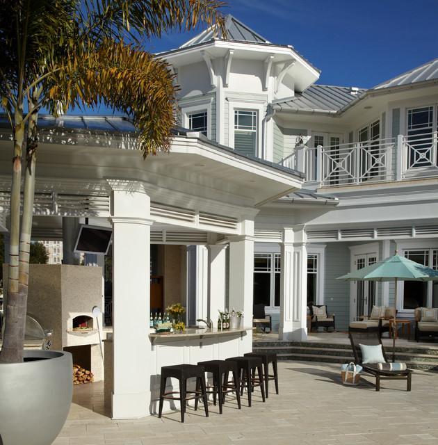Coastal living davis island interior design tropical for Interior designs tampa