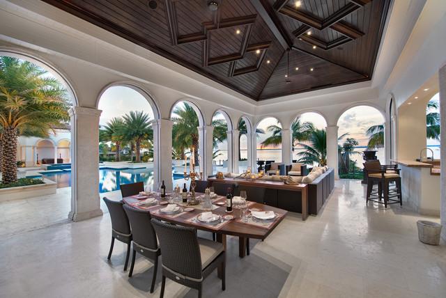 Coconut Luxury Home mediterranean-patio