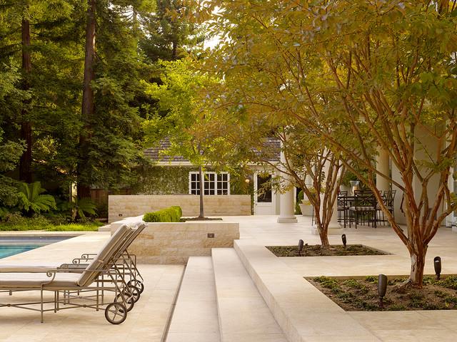 Coeur d'Alene Limestone Project traditional-patio