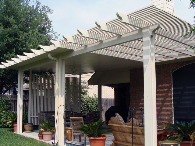Combo Pergola Patios and Decks - Patio - Austin - by Lone ... on 10X20 Patio Ideas id=81867