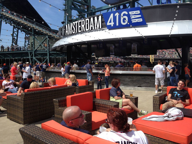 Comerica Park Pepsi Porch Contemporary Patio