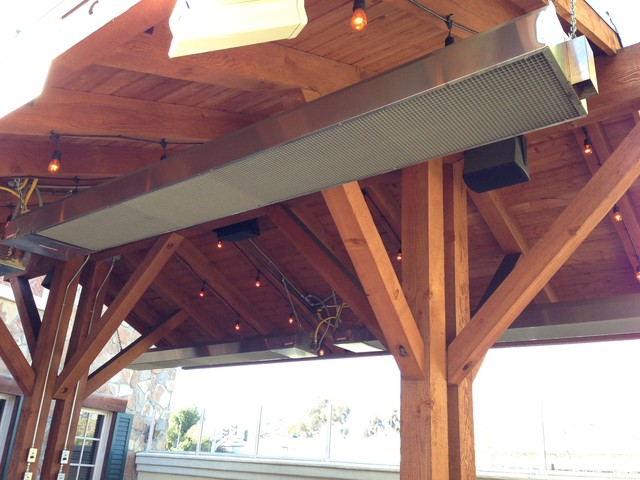 Exceptionnel Commercial Outdoor Patio Heaters Rustic Patio