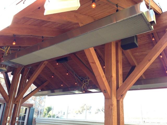 Delicieux Commercial Outdoor Patio Heaters   Rustic   Patio   San ...