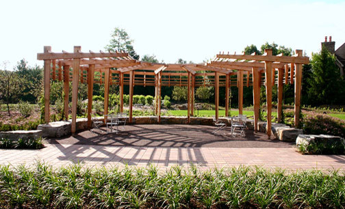 Commercial Pergolas Traditional Patio Boston By