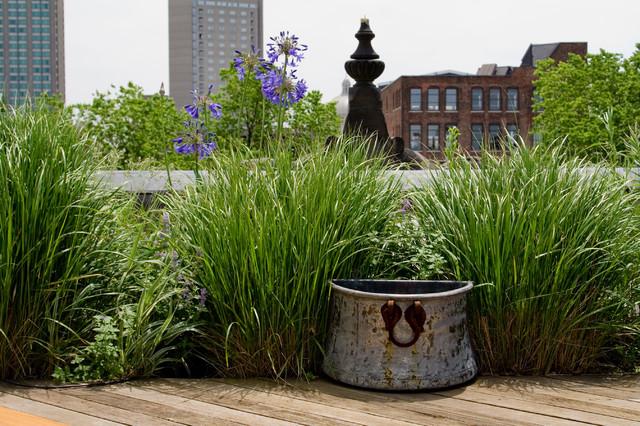 Commonwealth Avenue Garden eclectic-patio