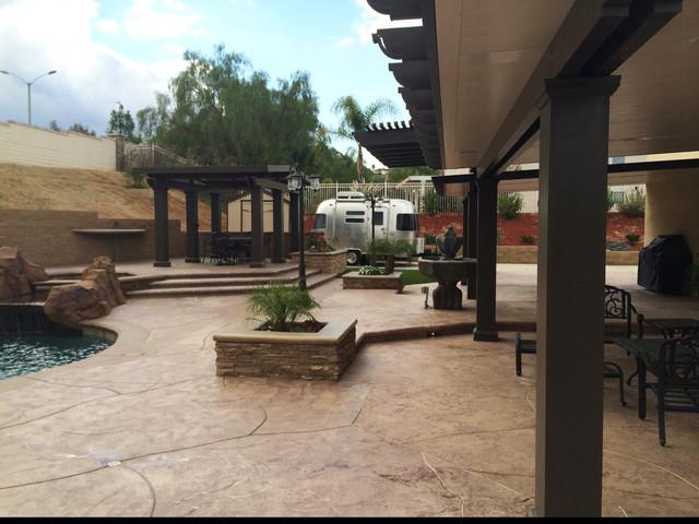 Complet Backyard Transformation Los Angeles De