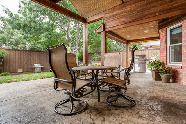Complete Kitchen Renovation & Outdoor Living Area traditional-patio