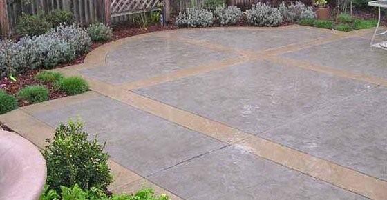 Concrete Patios contemporary-patio