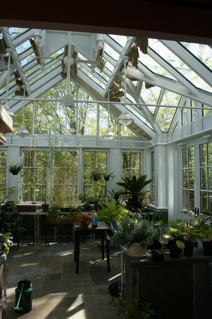 Conservatory traditional-patio