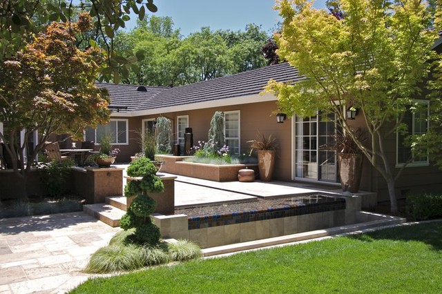 Contemporary Backyard - contemporary - patio - sacramento - by ...