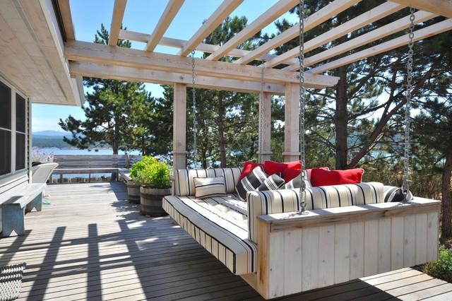 Contemporary Cottage - Patio beach-style-patio