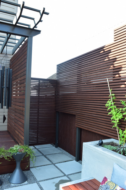 Contemporary Exterior Remodel Vancouver Wa Asian Patio Portland By Miller Kashas