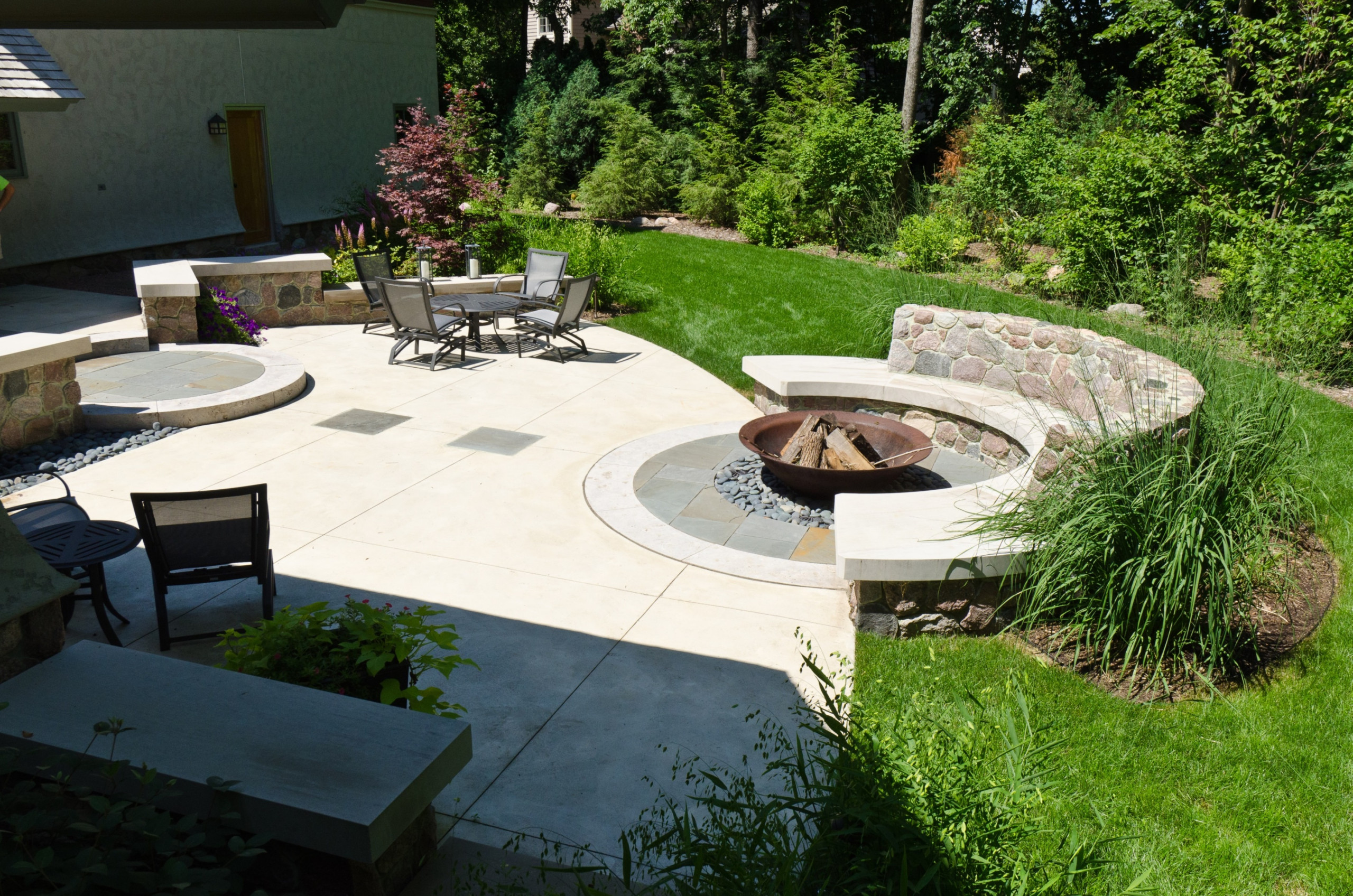 Contemporary Fire Bowl- Brookfield