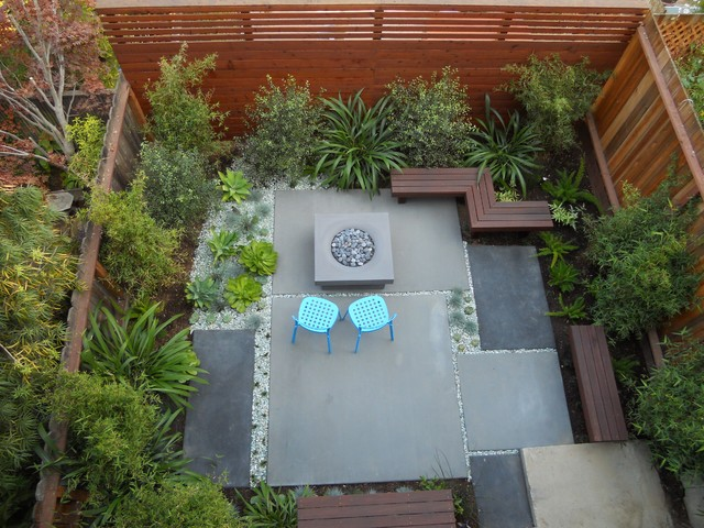 contemporary patio by Growsgreen Landscape Design