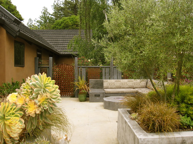 Aptos Residence contemporary-patio