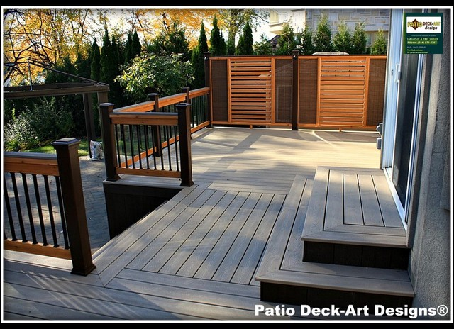 patio deck art designs outdoor living contemporain terrasse et patio montreal par patio. Black Bedroom Furniture Sets. Home Design Ideas