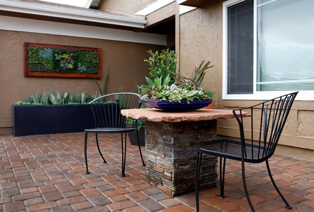 garden design: garden design with front yard patio landscaping ... - Front Yard Patio Ideas