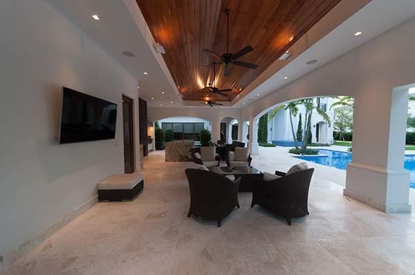 Contemporary Private Residence in Miami contemporary-patio