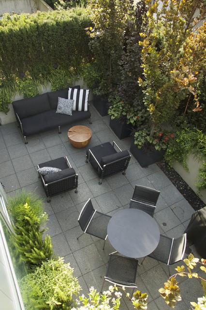 Contemporary Roof Garden, Armory District, Vancouver contemporary-patio