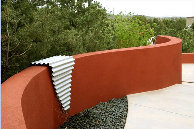 Contemporary Sculpture Garden contemporary-patio