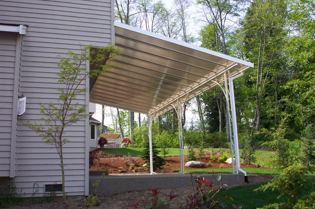 Plexiglass Patio Roof Conventional Roof Style Traditional Patio Other .