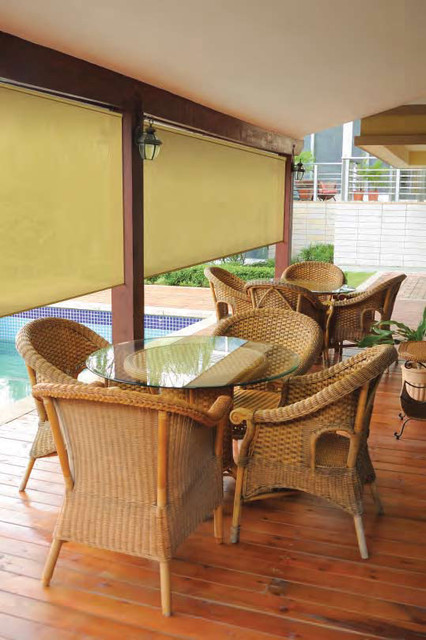 Coolaroo Exterior Sun Shade - Traditional - Patio - Houston - by ...