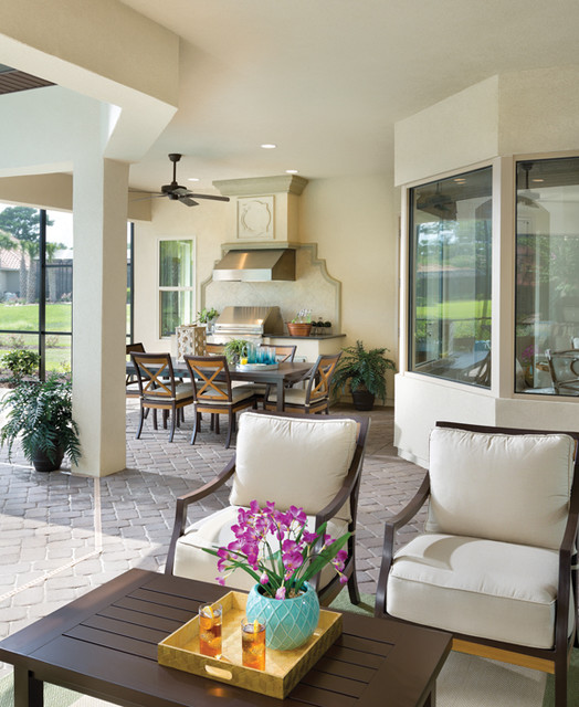 Coquina 1226 - Traditional - Patio - tampa - by Arthur ...