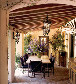 Corbett Lighting mediterranean patio
