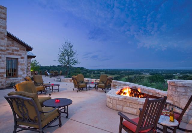 Cordillera Ranch traditional-patio
