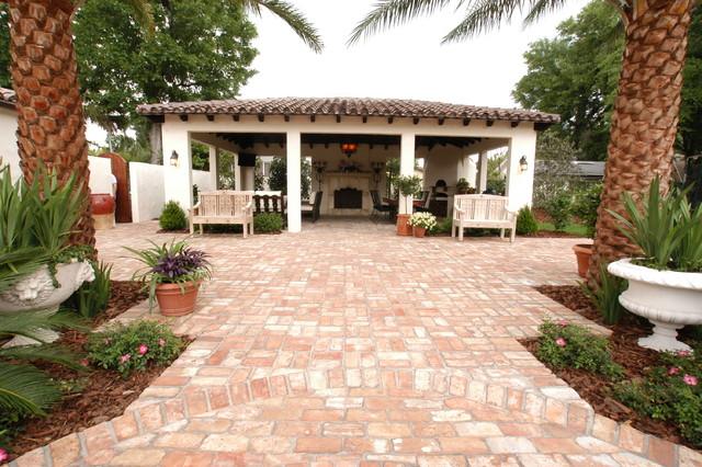 Cortland Avenue mediterranean-patio