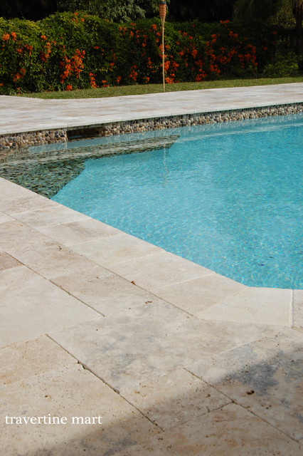 Country Classic Travertine Pavers - Patio Pavers traditional-patio