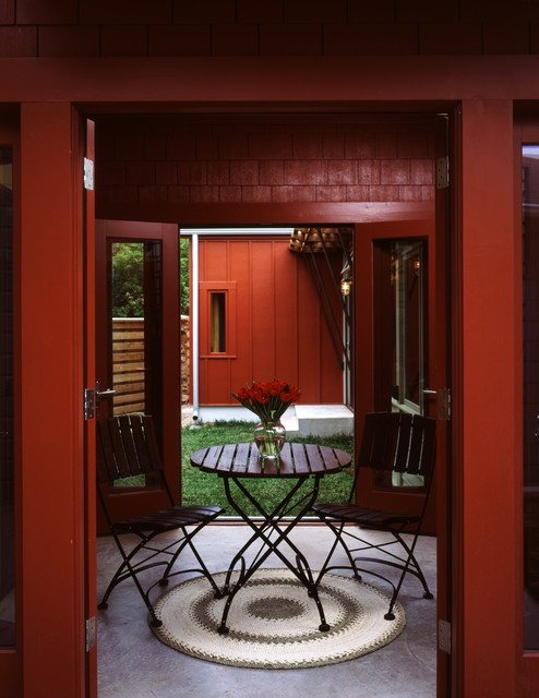Courtyard Residence eclectic