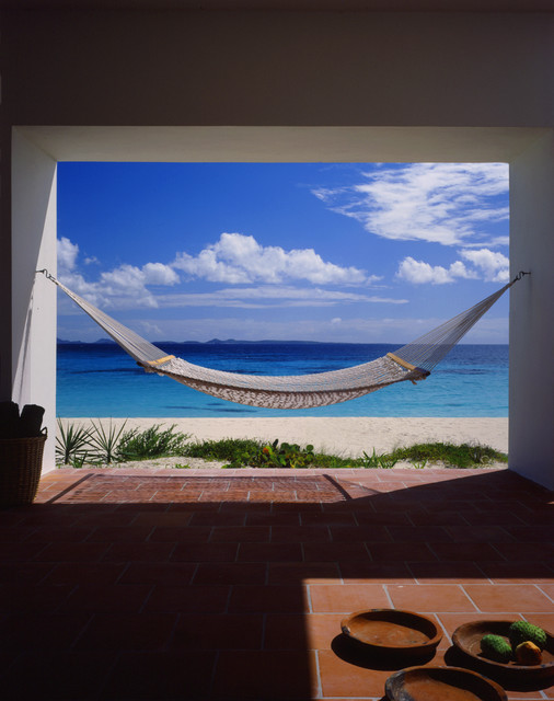 Covecastles, Anguilla, West Indies tropical-patio