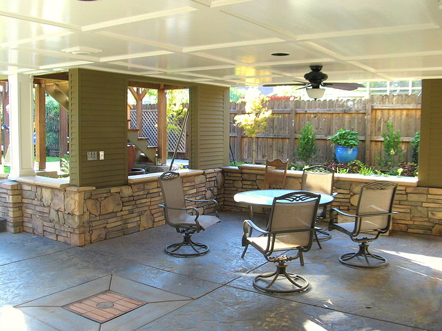 traditional patio by Madson Design
