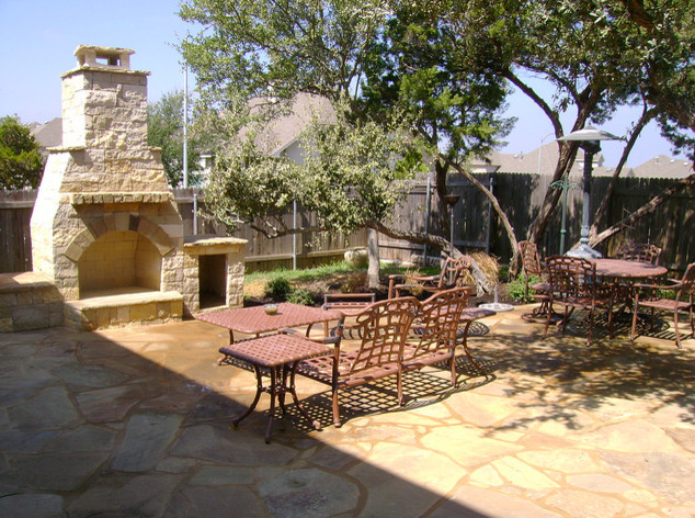 Covered Bridge Outdoor Living traditional-patio