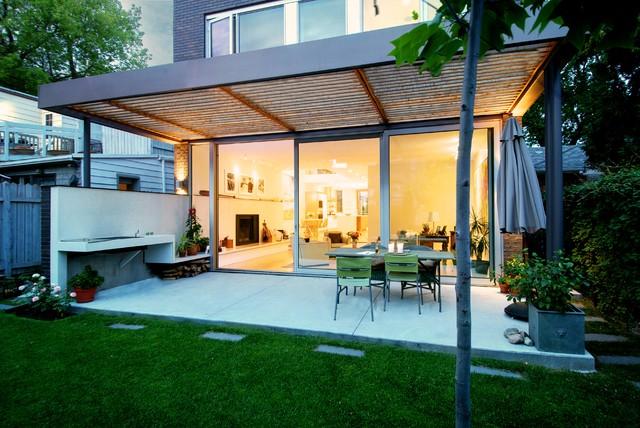 Covered Outdoor Patio - Modern - Patio - toronto - by ... on Modern Backyard Patio Ideas id=55042