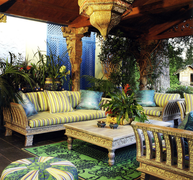 Merveilleux Covered Outdoor Patio Tropical Patio