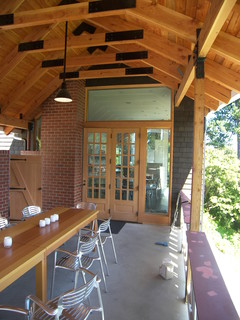 Covered Patio Entry Contemporary Patio Seattle By