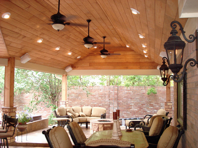 Covered Patios By Outdoor Homescapes Of Houston Contemporary Patio