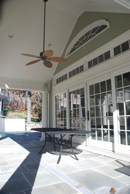 Pool House 2 (Katonah, NY) traditional-porch