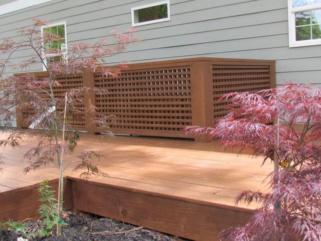 Cozy Intown Living contemporary-patio