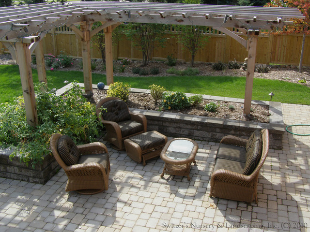 Cozy Outdoor Living traditional-patio