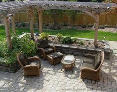 Cozy Outdoor Living traditional-patio