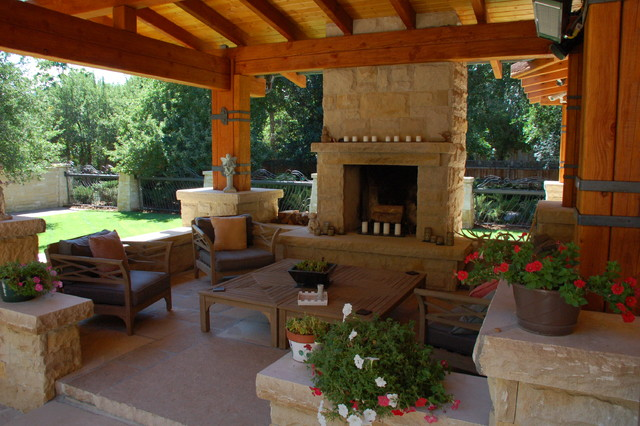 Craftsman Style New House Traditional Patio denver