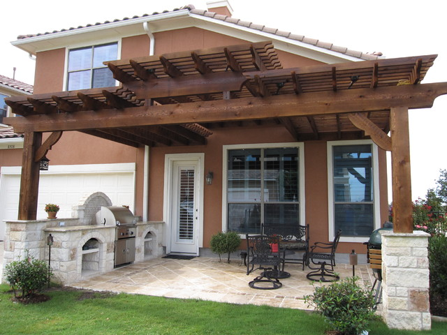Craig ranch mckinney tx traditional patio dallas for Dallas outdoor kitchens